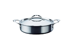 Hestan NanoBond Stainless Steel 3.5 Quart Sauteuse with Lid
