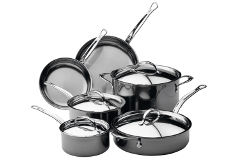 Hestan NanoBond Stainless Steel 10-Piece Cookware Set