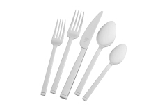 ZWILLING Squared 45-Piece Flatware Set