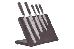 MIYABI Black 8-Piece Knife Block Set