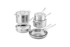 Demeyere Industry5 Stainless Steel 10-Piece Cookware Set