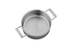 Demeyere Industry5 Stainless Steel 4 Quart Deep Saute Pan with Lid
