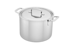 Demeyere Industry5 8 Quart Stock Pot with Lid