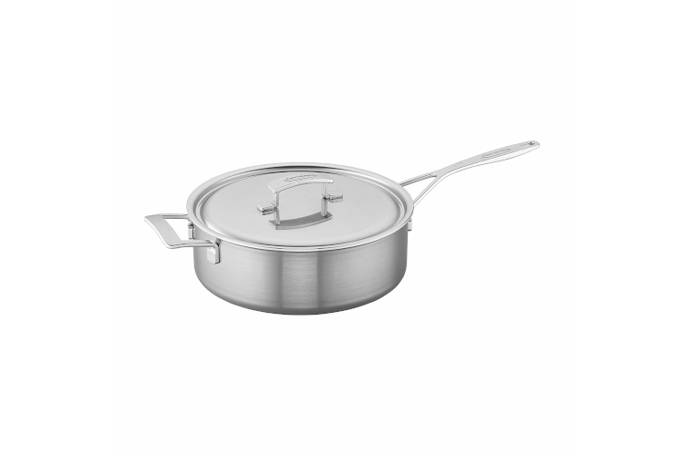 Demeyere Industry5 Stainless Steel Sauté Pans with Lid