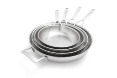 Demeyere Industry5 Stainless Steel Fry Pans