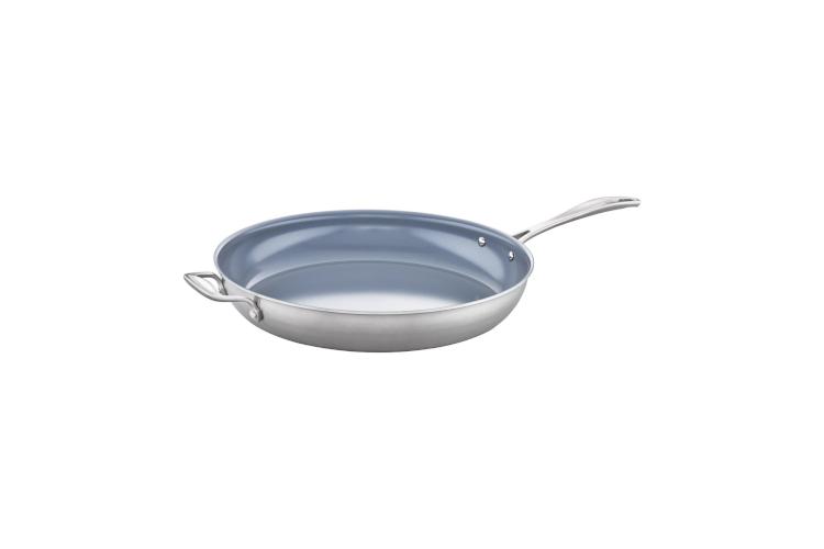 Zwilling Spirit Stainless Steel Ceramic Nonstick Fry Pans