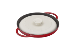 "Staub 12"" Chicken al Mattone Griddle & Press Sets"