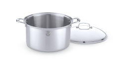 Hammer Stahl 12 Quart Stock Pot & Cover
