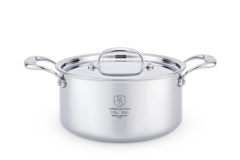 Hammer Stahl 4 Quart Sauce Pot & Cover