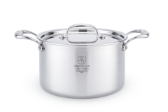 Hammer Stahl 5 Quart Sauce Pot & Cover