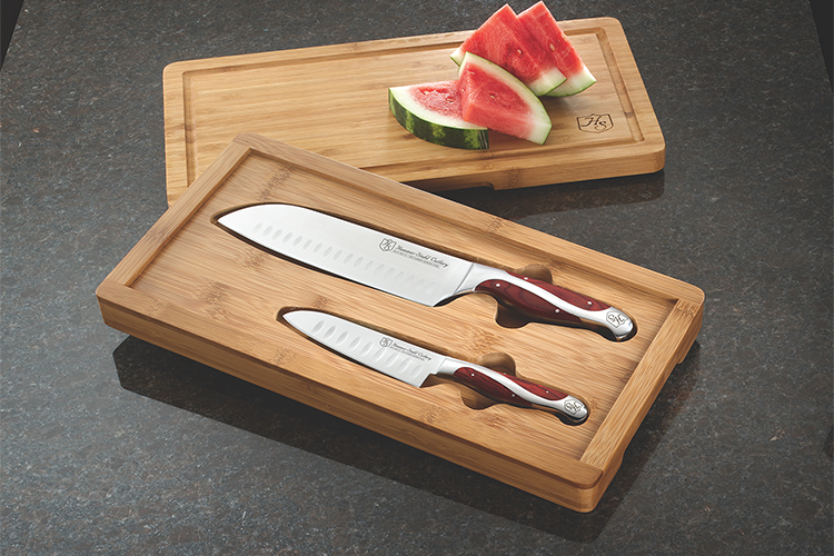 Hammer Stahl 2-Piece Cutlery Set w/Bamboo Box