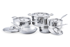 Hammer Stahl Stainless Steel 10 Piece Cookware Set