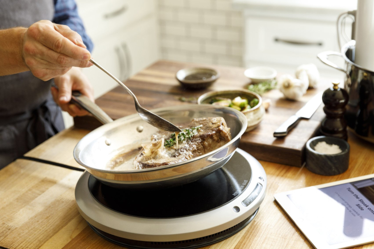 Hestan Cue (Gen 2) Smart Cooking System with Fry Pan