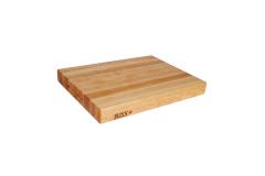 "John Boos Reversible 24"" x 18"" x 2.25"" Cutting Board Maple"