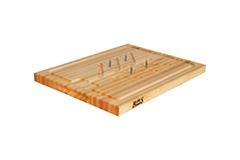 "John Boos 20"" x 15"" x  1.25"" Slicer Board Maple"