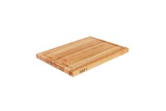 "John Boos Reversible 24"" x 18"" x 1.5"" Au jus Board Maple"