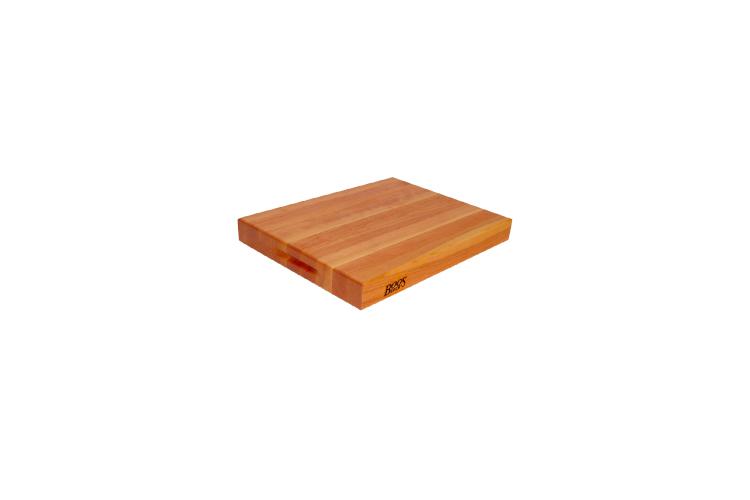 "John Boos Reversible 18"" x 12"" x 2.25"" Cutting Board - Cherry"