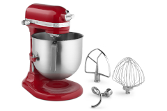 KitchenAid® Commercial 8 Quart Standing Mixer Empire Red