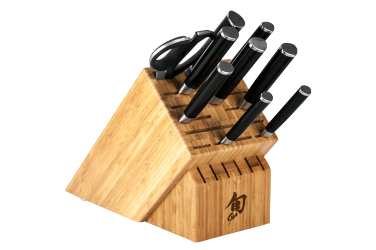 Shun Classic 10-Piece Knife Block Set