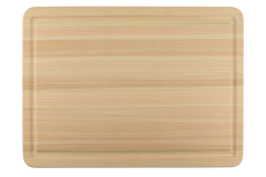 Shun Large Hinoki Cutting Board with Juice Groove