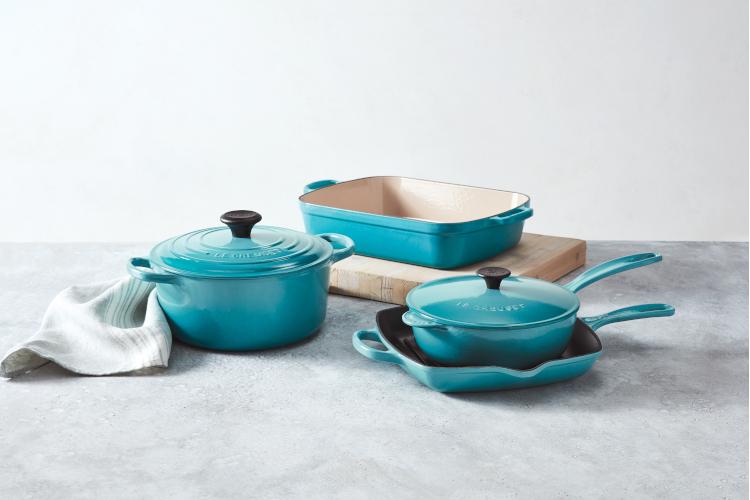 Le Creuset Signature Cast Iron 6 Piece Cookware Sets