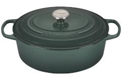 Le Creuset Signature Cast Iron 6.75 Quart Oval Oven - Artichaut