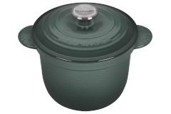 Le Creuset Cast Iron 2.25 Quart Rice Pot & Stoneware Insert - Artichaut