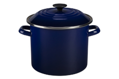 Le Creuset Enamel on Steel 8 Qt Stockpot -  Indigo