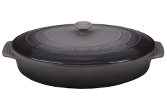 Le Creuset Stoneware Covered Oval Casserole