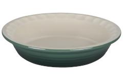 """Le Creuset Stoneware Heritage 9"""" Pie Dish - Artichaut"""
