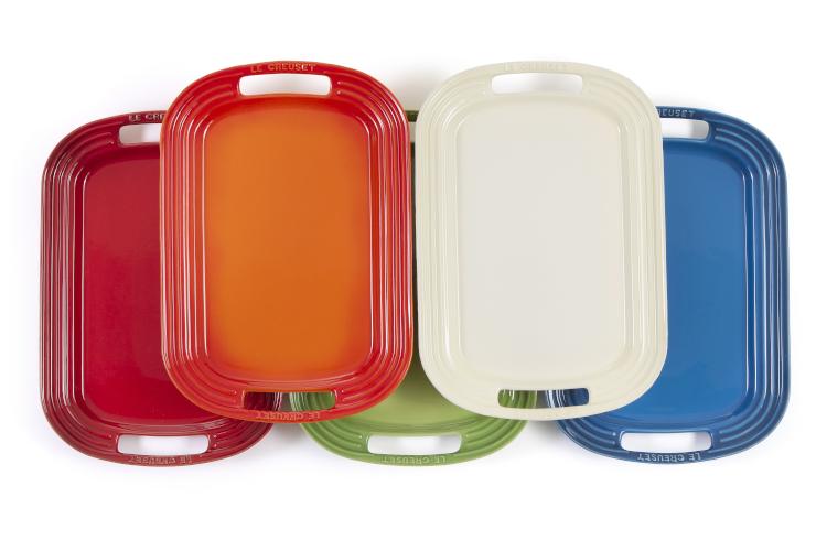 """Le Creuset Stoneware 16.25"""" Serving Platters"""