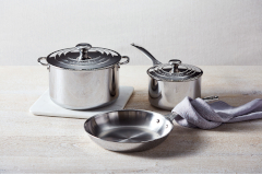 Le Creuset Premium Stainless Steel 5-Piece Cookware Set