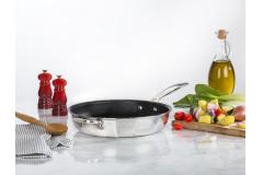 Le Creuset Premium Stainless Steel Deep Nonstick Fry Pans