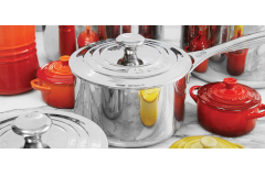 Le Creuset Premium Stainless Saucepans with Lid