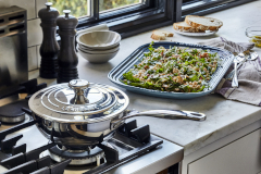 Le Creuset Premium Stainless Steel Sauciers with Lid