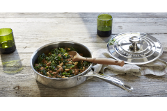 Le Creuset Premium Stainless Steel Saute Pans with Lid