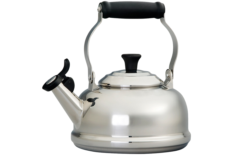 Le Creuset Stainless Steel 1.7 Quart Whistling Tea Kettle