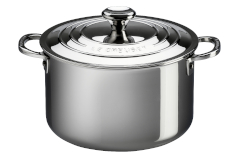 Le Creuset Premium Stainless Steel Stock Pots with Lid