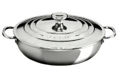 Le Creuset Premium Stainless Steel 5 Quart Braiser