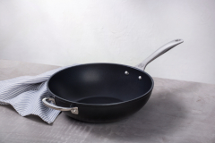 "Le Creuset Toughened Non-Stick 12"" Stir-Fry Pan"