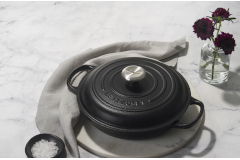 Le Creuset Signature Cast Iron Braisers - Licorice
