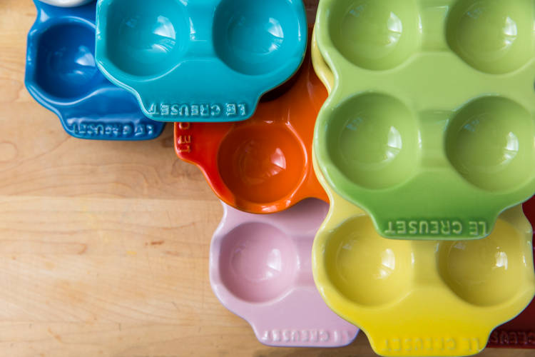 Le Creuset Stoneware 6 Compartment Egg Cartons