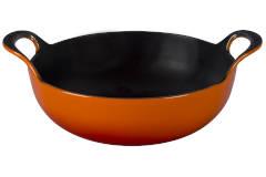 Le Creuset Cast Iron 3 Quart Balti Dish - Flame