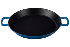 Le Creuset Cast Iron 3.25 Quart Paella Pan - Marseille