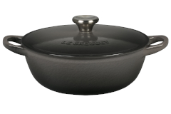 Le Creuset Cast Iron 1.5 Quart Chef's Oven - Oyster