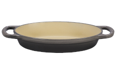 Le Creuset Signature Cast Iron 1 Quart Oval Baker - Oyster