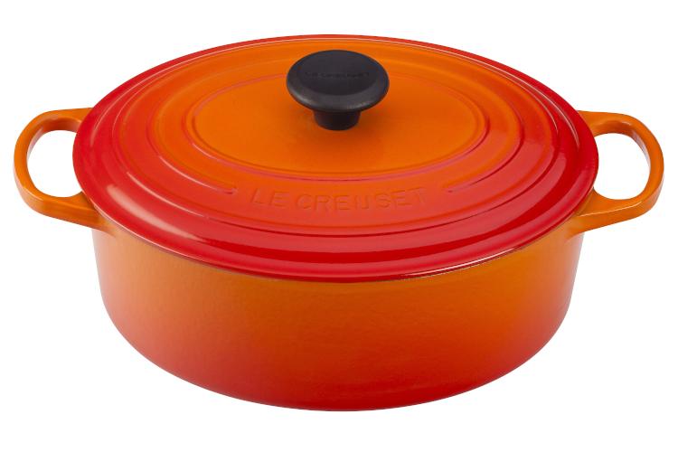 Le Creuset Signature Cast Iron Oval Ovens - Flame