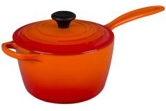 Le Creuset Signature Cast Iron Saucepans - Flame