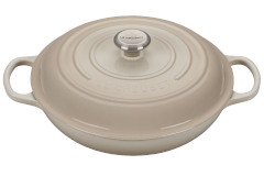 Le Creuset Signature Cast Iron Braisers - Meringue