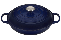 Le Creuset Signature Cast Iron Braisers - Indigo